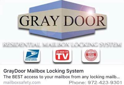 GrayDoorMailboxSecurity